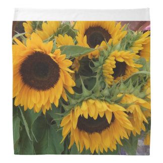 Pretty Bandana - Summer Sunflowers