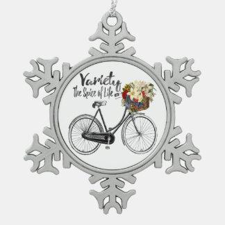 Pretty Bike ornament  inspirational motivational