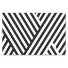 Pretty Black White Stripes 10lb Tissue Paper