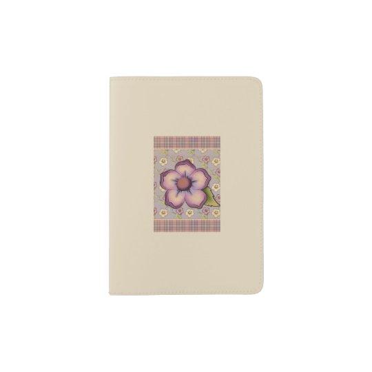 Pretty Blossomed Passport Holder
