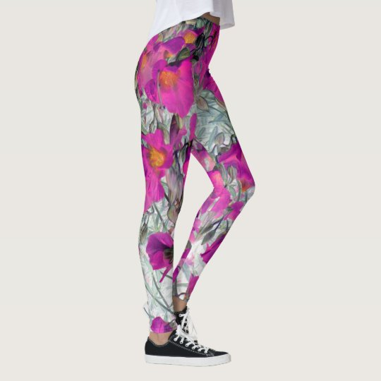 pretty blossoms leggings