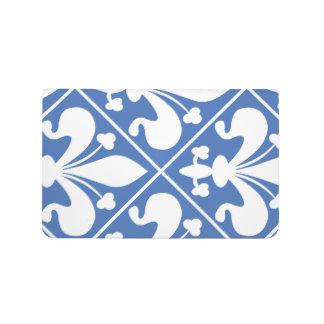 Pretty Blue and White French Fleur de Lys Journal