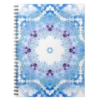 Pretty blue butterflies notebooks