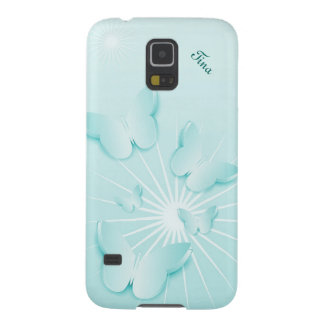 Pretty Blue Butterflies Samsung Galaxy S5 case