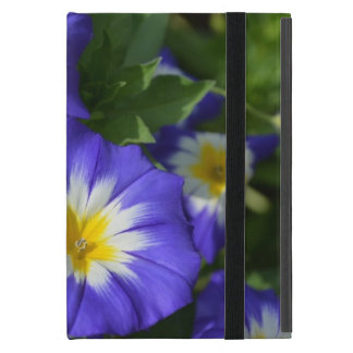 Pretty Blue Ensign Morning Glories Case For iPad Mini