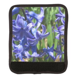 Pretty Blue Hyacinth Garden Flower Luggage Handle Wrap