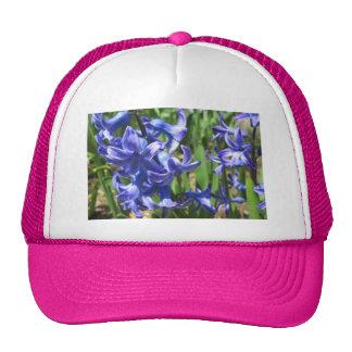 Pretty Blue Hyacinth Garden Flower Trucker Hat