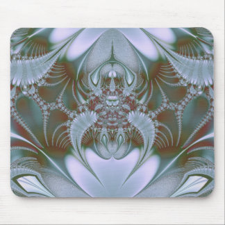 Pretty Blue Silk and Satin Look Mouse Pad