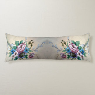Pretty `Bouquet of Flowers' Body Pillow