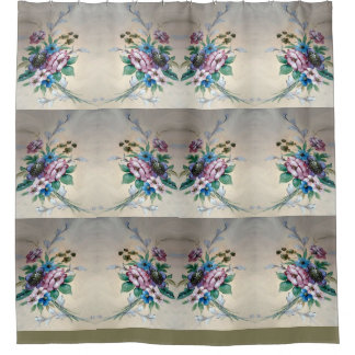 Pretty Bouquet of Flowers Shower Curtain
