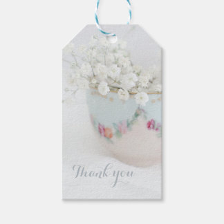 Pretty Bridal Tea Shower Thank You Gift Tags Pack Of Gift Tags