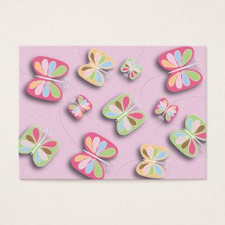 Pretty Butterflies Flutter By Babysitting Business Business Card