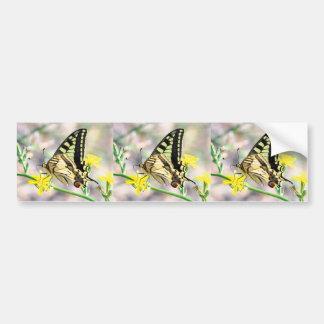 Pretty Butterfly Bumper Sticker