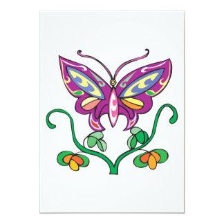 pretty butterfly design announcement