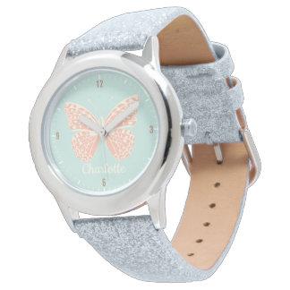 Pretty Butterfly Girl's Watch