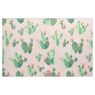 Pretty Cactus Print Fabric