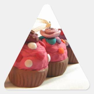 Pretty Cakes Triangle Sticker