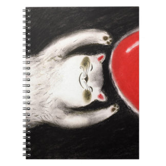 pretty cats pets notebook