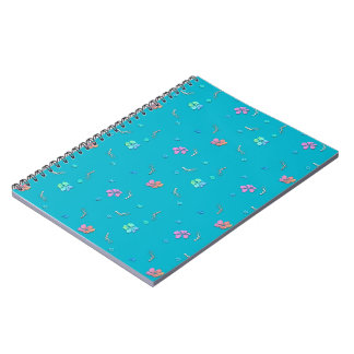 Pretty Cherry Blossom Flowers Spiral Notebooks
