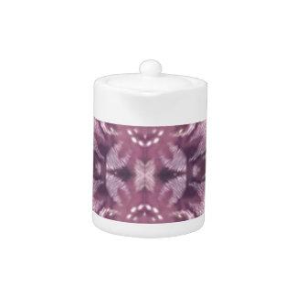 Pretty Chic Burgundy Lavender Artistic Floral