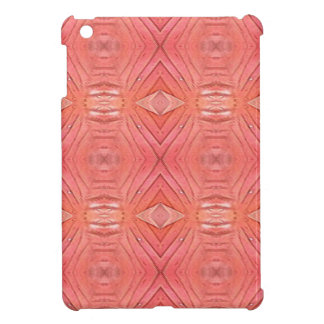 Pretty Chic Soft Peach Pastel Pattern Cover For The iPad Mini