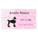 Pretty Childrens Profile card / Calling Card Pack Of Standard Business Cards
