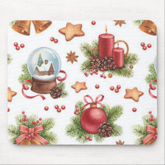 Pretty Christmas Mouse Pad