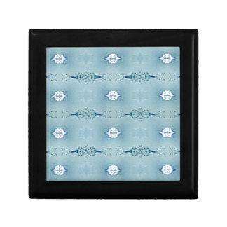 Pretty Classic Blues In Modern Pattern Gift Box