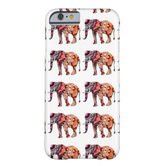 Pretty Colorful Artsy Elephant Cell Phone Case