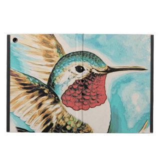 Pretty Costa's Hummingbird Case For iPad Air