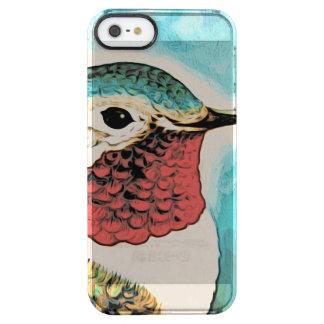 Pretty Costa's Hummingbird Clear iPhone SE/5/5s Case
