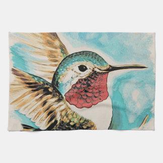 Pretty Costa's Hummingbird Kitchen Towel