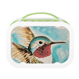 Pretty Costa's Hummingbird Lunch Box