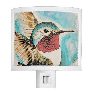 Pretty Costa's Hummingbird Night Lights