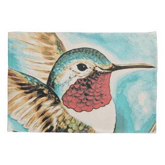 Pretty Costa's Hummingbird Pillowcase