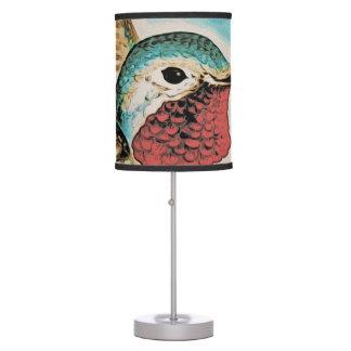 Pretty Costa's Hummingbird Table Lamp