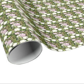 Pretty Country Floral Design Wrapping Paper