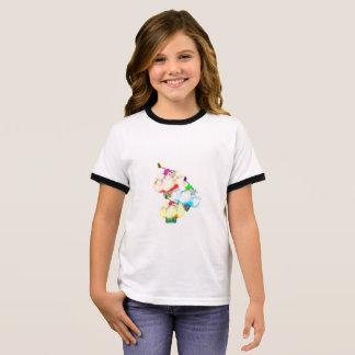 Pretty cupcake splash ringer T-Shirt