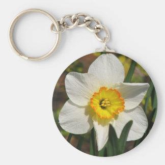 Pretty Daffodil Keychain