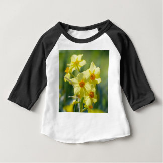 Pretty Daffodils, Narcissus 03.1 Baby T-Shirt