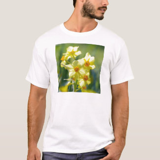 Pretty Daffodils, Narcissus 03.1 T-Shirt