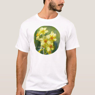 Pretty Daffodils, Narcissus 03.2_rd T-Shirt