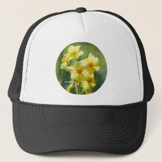 Pretty Daffodils, Narcissus 03.2_rd Trucker Hat