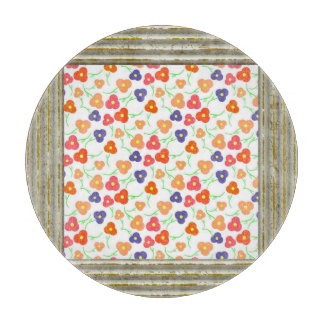 Pretty Dainty Flowers Cutting Board