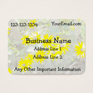 Pretty Daisies Nature Business Card