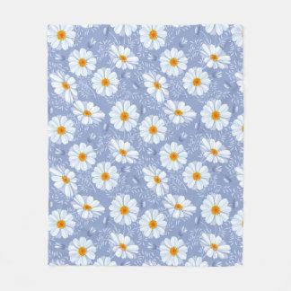 Pretty Daisy Custom Fleece Blanket, Medium