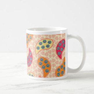 Pretty Dancing Paisley Coffee Mug