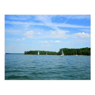 Pretty Day for Sailing Postcard