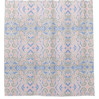 Pretty Decorative Pattern Pink And Blue