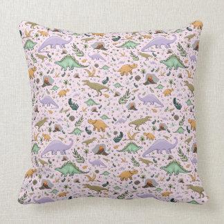 Pretty Dinosaur Cushion